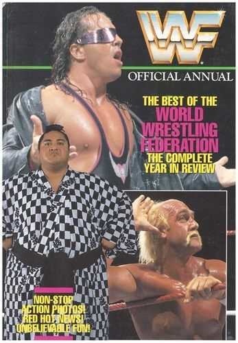 LIVRE wwf official annual 1993