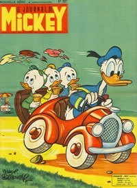 BD Le journal de mickey N°387-1959