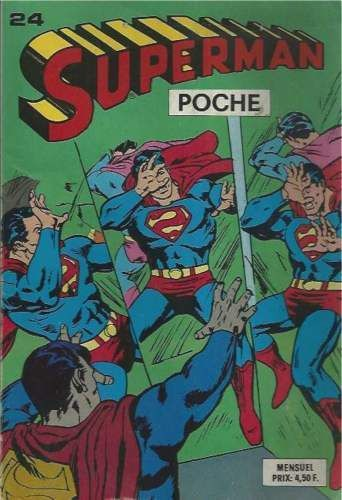 BD Superman poche N°24-1979