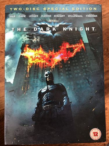 DVD The dark knight 2008 ( Anglais )