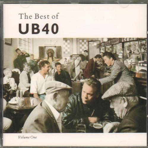 CD ub40 the best of vol 1 - 1987