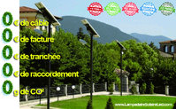 Eco friendly solar street lights