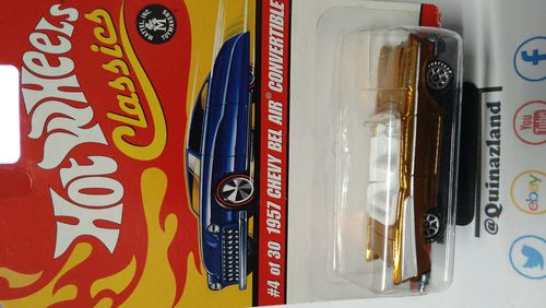 Hot wheels Classics serie 2 1957 Chevy Bel Air Convertible (CP33)