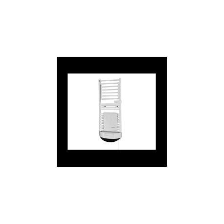 Toallero calefactor electrico con termoventilador