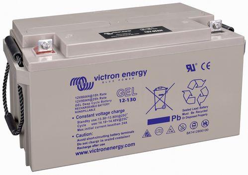 Batería de Gel 12V/130Ah(C20) Deep Cycle de Victron