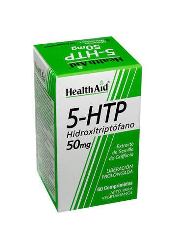 5-HTP Hydroxytyiptophan 60 caps. - Health Aid