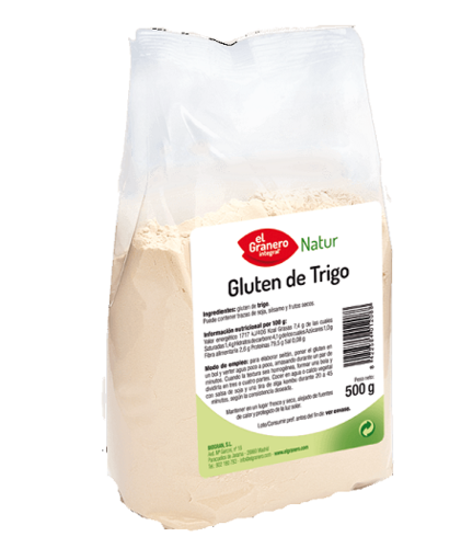Wheat gluten 500g - El Granero Integral