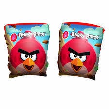 arm bands Angry bird 23x15