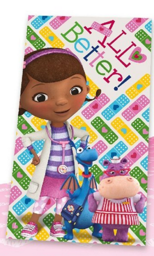 towel cotton Doc Mcstuffins 70x140