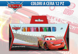 12 colored crayons cars