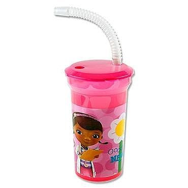 Tumbler with Straw doc McStuffins