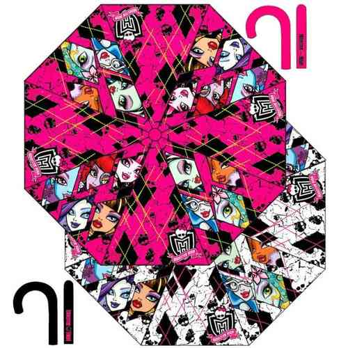 parapluie monster high auto 48cm