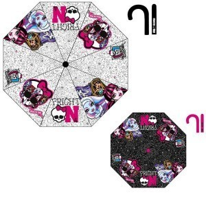 paraguas monster high 48cm automatic