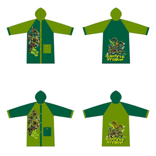 impermeable Turtles 4-6-8