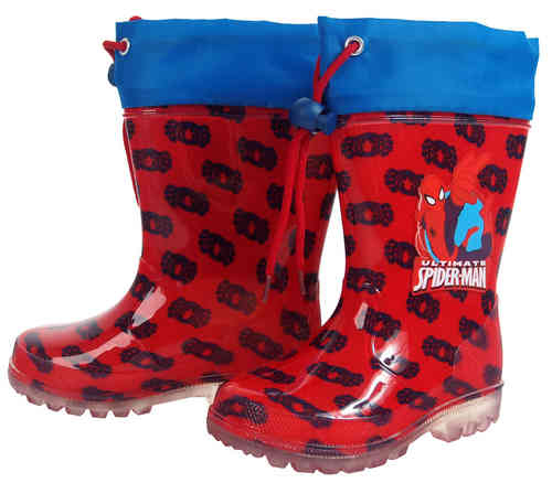 water boot spiderman 22-24-26-28-30-32