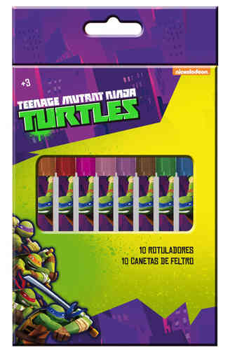 marqueurs 10 pcs Turtles