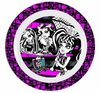 assiette melamine monster high