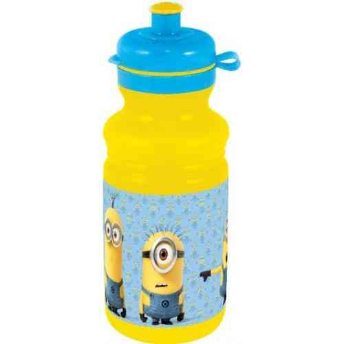 botella deporte 500ml minions