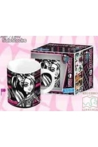 taza ceramica Monster high