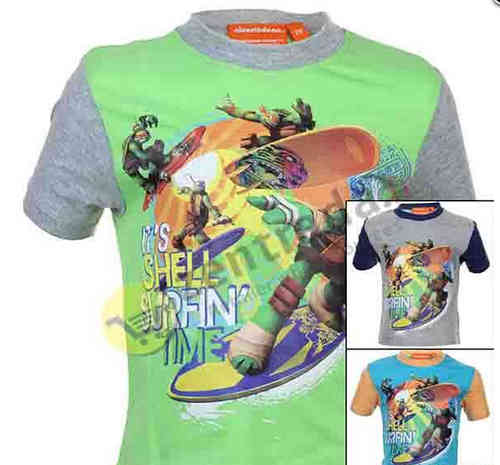 T-shirt Turtles 2-4-6-8