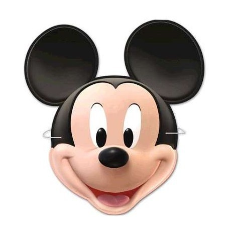6 masques Mickey