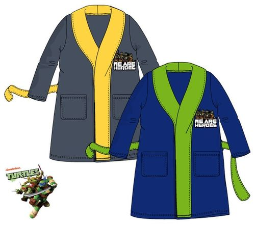 robe de chambre  Turtles 3-4-6-8