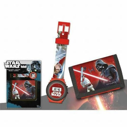 billetera reloj Star wars