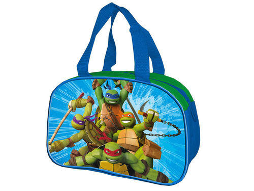 sac a snack Turtles 23x15cm