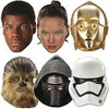 6 mask Star wars