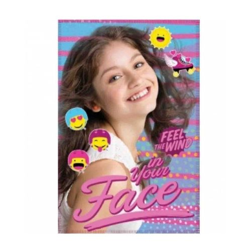 fleece blanket Soy luna 100x140