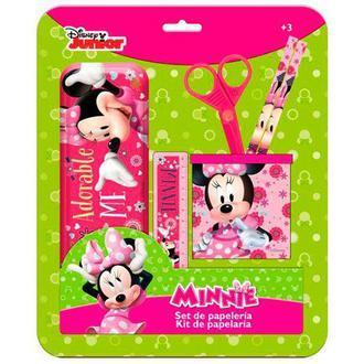 set papeterie minnie