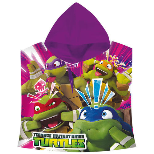 cape de bain coton Turtles 60x120