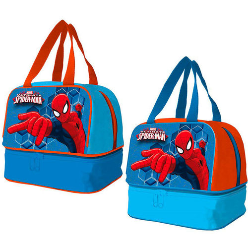 sac a snack Spiderman 20x14x18cm