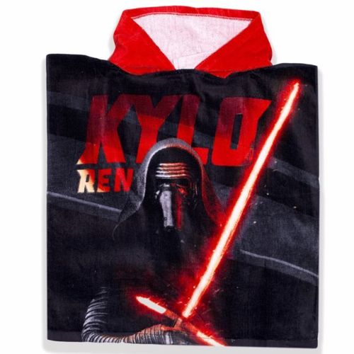 poncho cotton Star wars 100x50