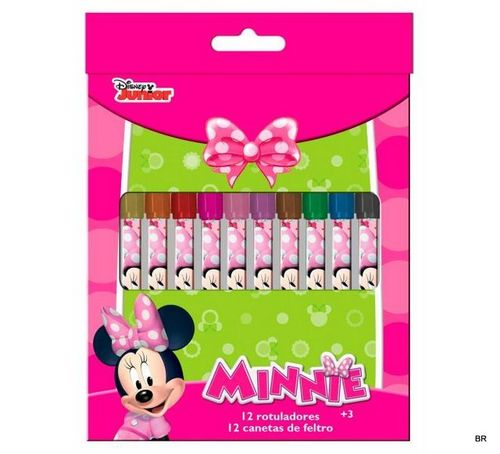 12 markers Minnie