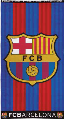 towel cotton FC Barcelona 75x150
