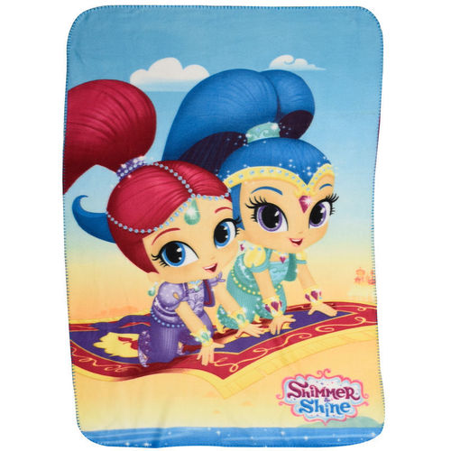fleece blanket Shimmer & Shine 100x140cm