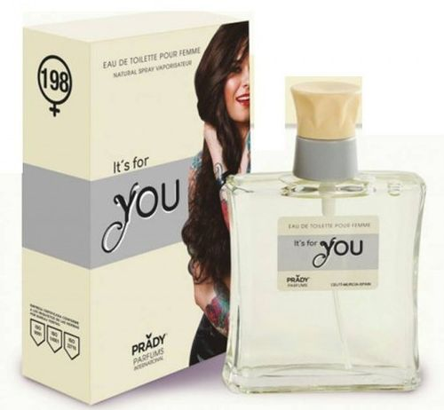 eau de toilette IT'S FOR YOU pour FEMME 100ML. PRADY