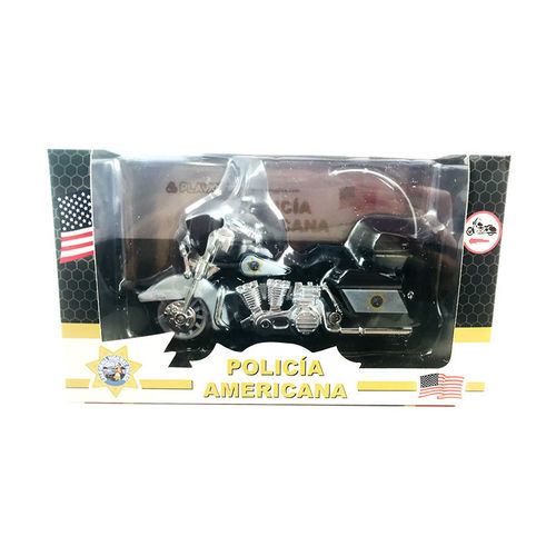 Metal motorcycle Policia Americana 12x8x5,50cm