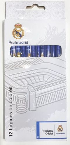 12 crayon couleur Real Madrid