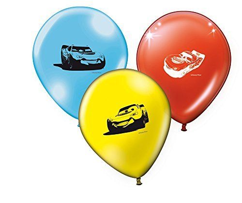 set 8 globos Cars