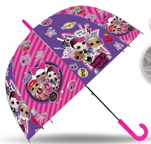 parapluie transparent LOL Surprise 46cm
