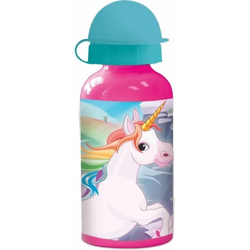 botella aluminio Unicornio 400ml