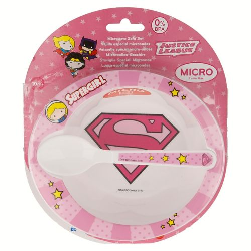 set micro-ondes SuperGirl