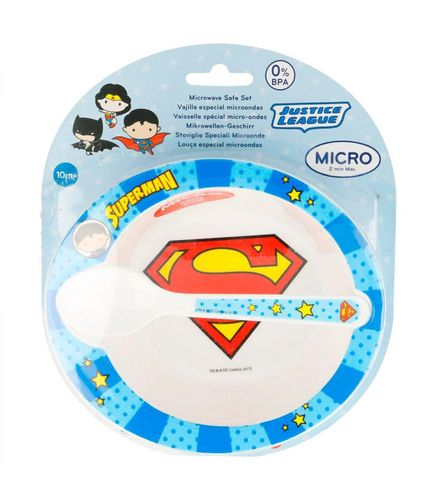 set micro-ondes Superman