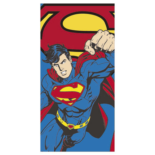 towel polyester Superman 70x140