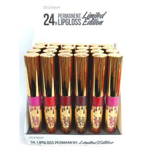 LIPGLOSS PERMANENTE 24H. (0.56€'UNIDAD)PACK 24 D'DONNA