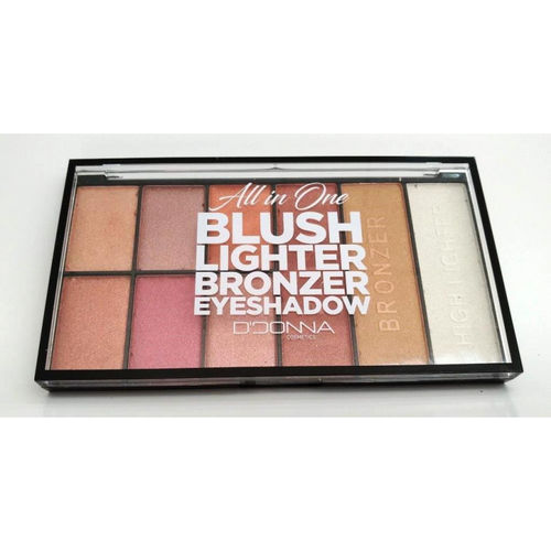 PALETTE OMBRE À PAUPIERES ALL IN ONE(1.35€ UNITE) PACK 12 D'DONNA