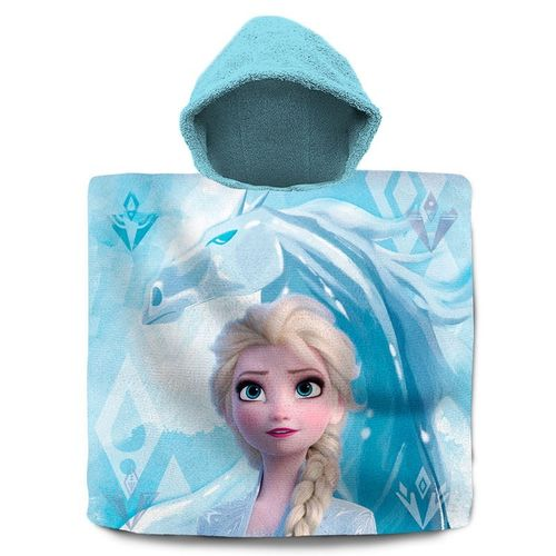 poncho cotton Frozen 60x120