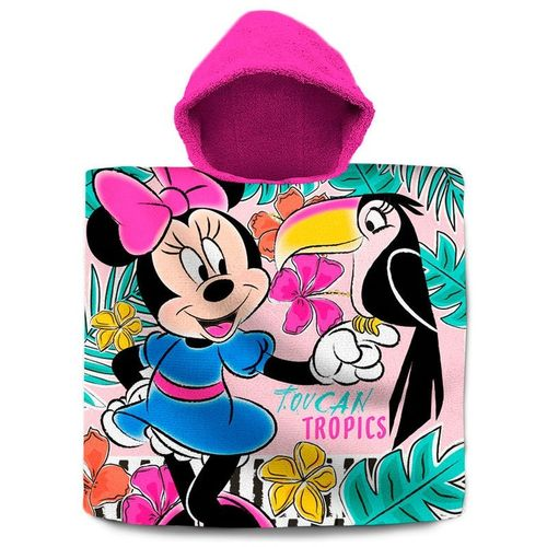 poncho cotton minnie 60x120